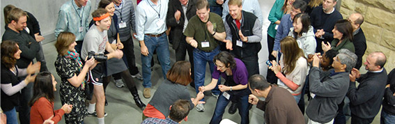 Using improv games to warm up for user testing and prototyping: part 3 of 3