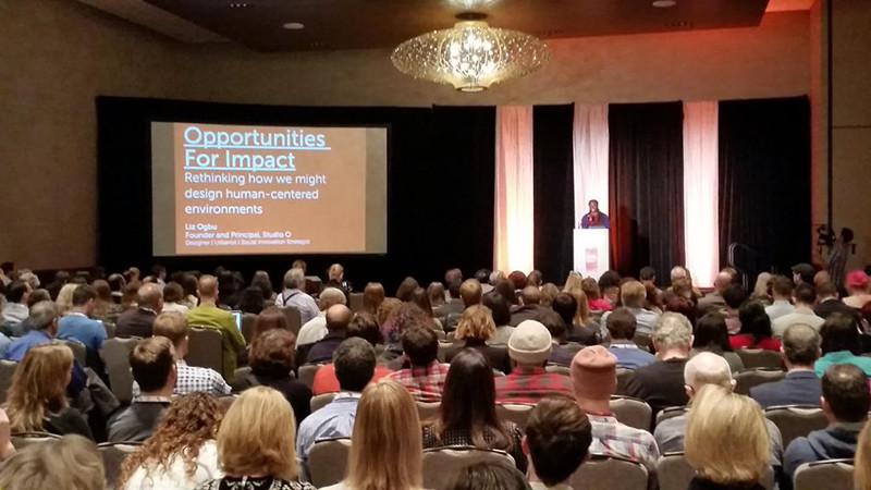 Liz Ogbu keynote at MCN 2015